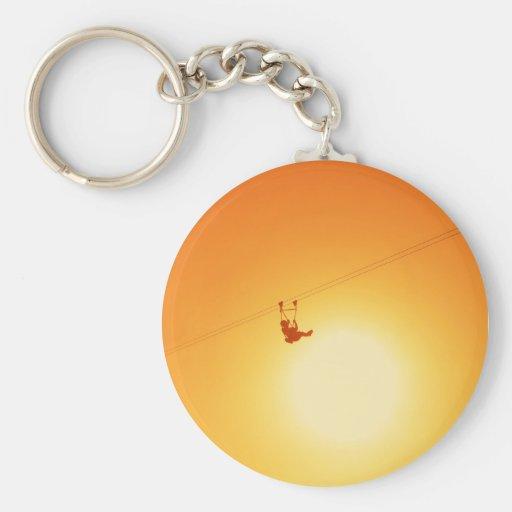 zipline key chain