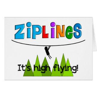 ZipLine Lovers Gifts Card