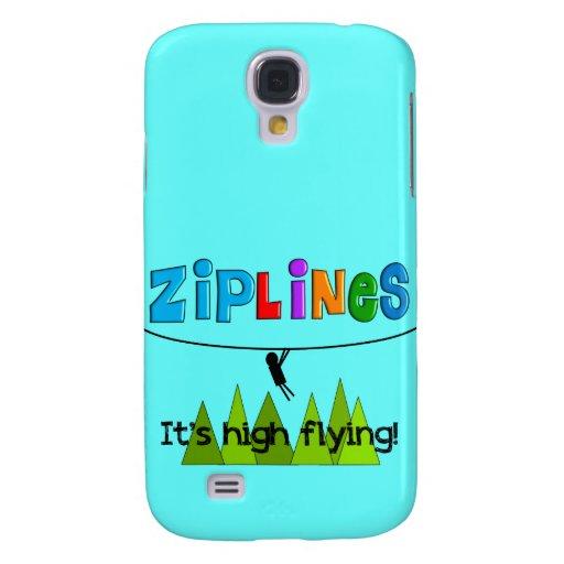 ZipLine Lovers Gifts Samsung Galaxy S4 Covers
