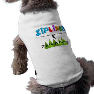 ZipLine Lovers Gifts Doggie Tee