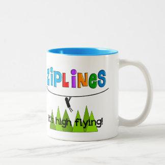 ZipLine Lovers Gifts Coffee Mug