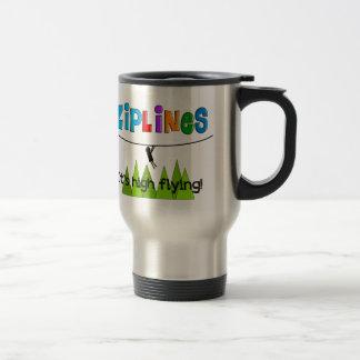 ZipLine Lovers Gifts Coffee Mugs