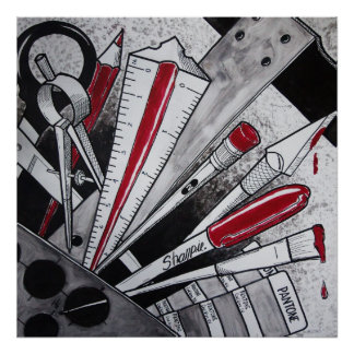 Zipline Red Show 2012 Poster