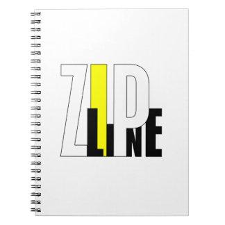 Zipline Spiral Note Book