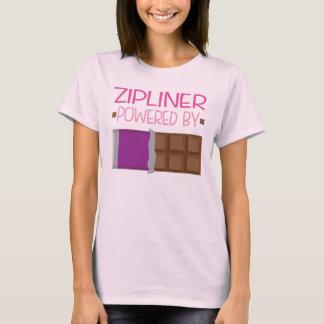 Zipliner Chocolate Gift for Her T-Shirt