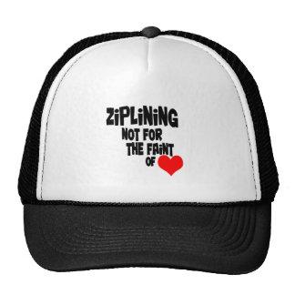 Ziplining Cap