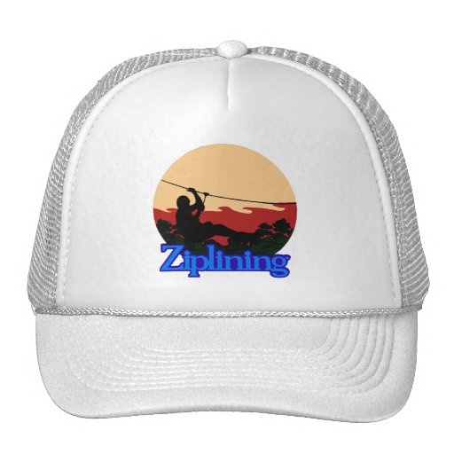 Ziplining Mesh Hat