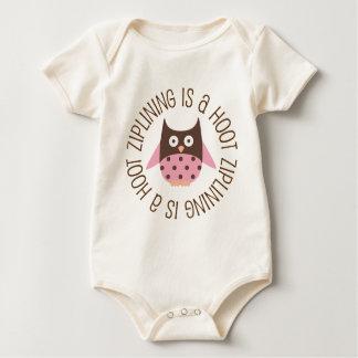 Ziplining Is A Hoot Owl Baby Creeper