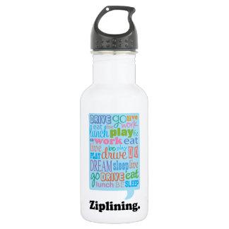 Ziplining 532 Ml Water Bottle