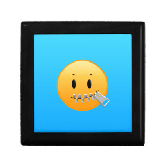 Zipper Emoji Gift Box