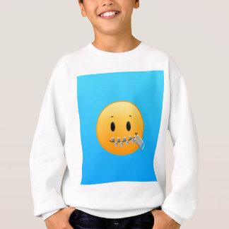 Zipper Emoji Sweatshirt