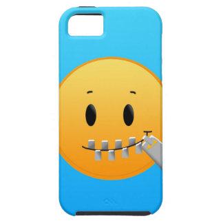 Zipper Emoji Tough iPhone 5 Case