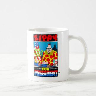 Zippy for President Basic White Mug