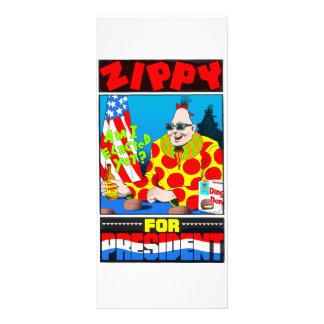Zippy For President Custom Rack Card