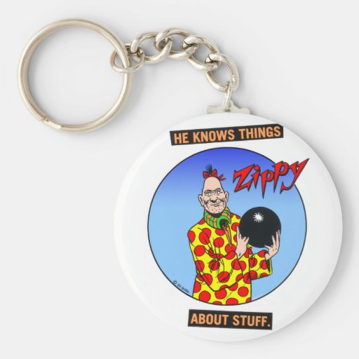Zippy knows things.... key chains