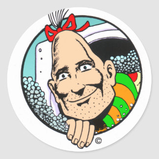 Zippy the Pinhead Classic Round Sticker