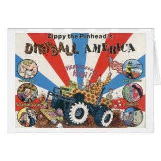 Zippy's Dirtball America Notecard Greeting Card