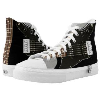 Zipz High Top Shoes Guitar