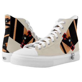 Zipz High Top Shoes skateboard