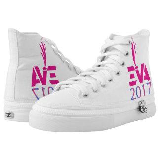 Zipz High Top Shoes, US Men 4 / US Women 6 Printed Shoes
