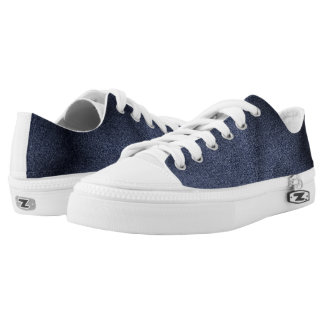 Zipz Low Top Shoes Effet Denim