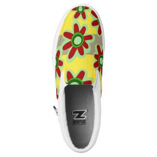 Zipz slip on shoes