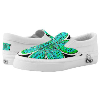 Zipz Slip On Shoes (Emily) Printed Shoes