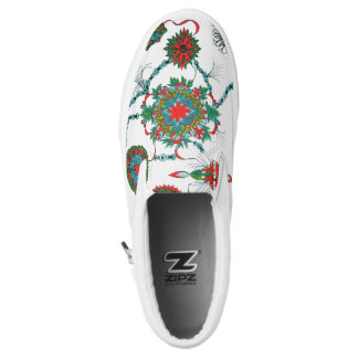 Zipz Slip On Shoes Printed Shoes