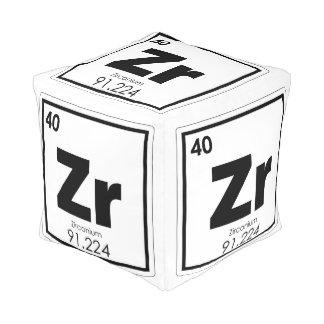Zirconium chemical element symbol chemistry formul pouf
