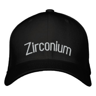 Zirconium Embroidered Hat