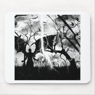 Zith, Winged Man Original Art by EE Little Mouse Pad