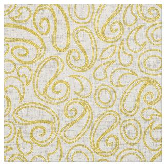 ziya cream yellow fabric