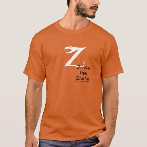 Zizzle the Znake Dark Shirt by Grassrootsdesigns4u