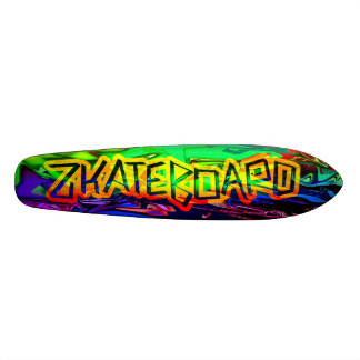 Zkateboard Psychedelic Deck Design 20 Cm Skateboard Deck
