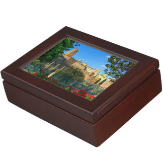 zL_italy_forum_romano_flowers_day Keepsake Box