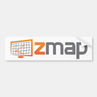 ZMap Logo Bumper Sticker