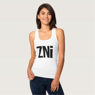 ZNi Logo Racerback Ladies Tanktop Singlet