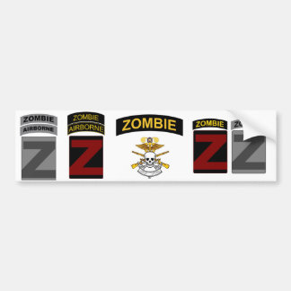 ZOCOM Unit Patch and Skill Tab Decals 1 Bumper Sticker