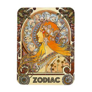 Zodiac 1896 magnets