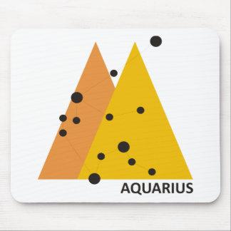 Zodiac Aquarius Mouse Pad