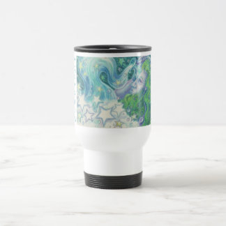 Zodiac Aquarius travel/commuter mug
