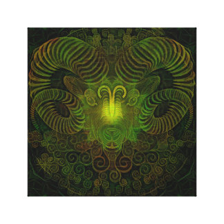"Zodiac Aries 12"" x 12"", 1.5"", Single Canvas Print"