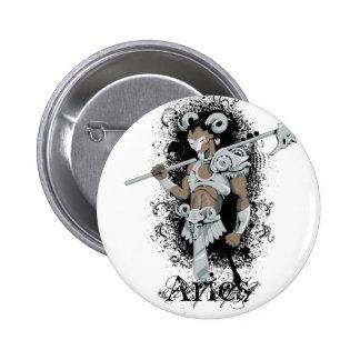 Zodiac - Aries Pinback Buttons