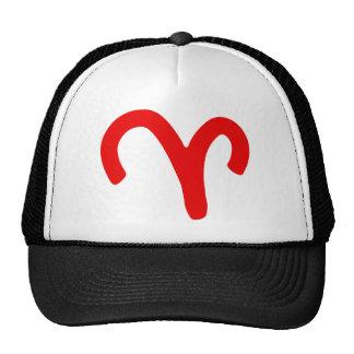 zodiac-aries mesh hat