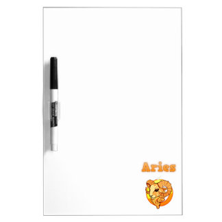 Zodiac Aries illustration Dry Erase Board