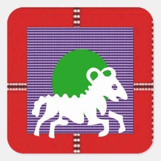 ZODIAC ARIES Jyotish  Astrology Stickers