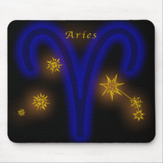Zodiac - Aries Mouse Pad