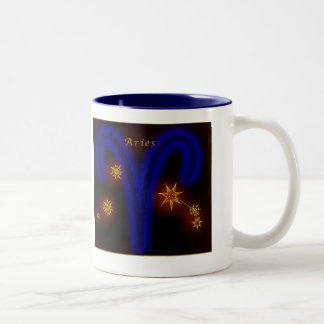 Zodiac - Aries Two-Tone Mug