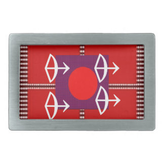 ZODIAC Arrow Sagittarius Astrology Rectangular Belt Buckles