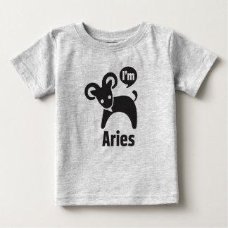 Zodiac Baby Tees-Aries Baby T-Shirt